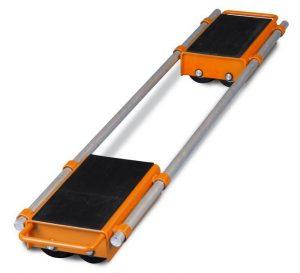 Podwójna platforma rolka transportowa do ciężkich ładunków i maszyn Unicraft VTR 12