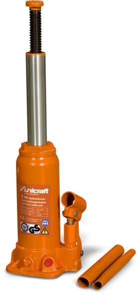 Podnośnik hydrauliczny słupkowy (butelkowy) Unicraft HSWH 5