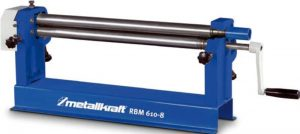 METALLKRAFT Ręczna zwijarka walcarka do blachy RBM 610 - 8 0,8 MM