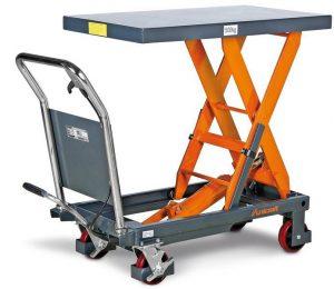 Mobilny stół roboczy z regulacją wysokości Unicraft FHT 500