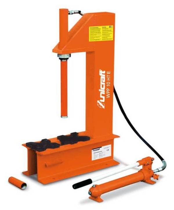 Prasa hydrauliczna warsztatowa UNICRAFT WPP 10 HTE