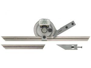 Kątomierz tarczowy - kątownik precyzyjny LIMIT 150 - 300 mm