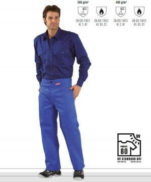 Spodnie ochronne dla spawaczy PLANAM