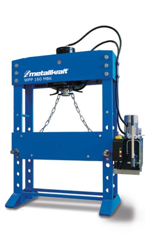 Prasa hydrauliczna warsztatowa METALLKRAFT WPP MBK 100 D 1500
