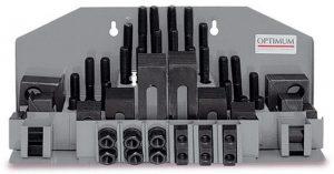 Zestaw płytek dociskowych łap mocujących OPTIMUM SPW 8 58 szt. M8
