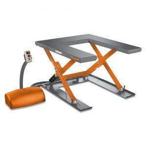 Stół nożycowy platforma nożycowa podnośnik UNICRAFT SHT 1001U 1000 kg