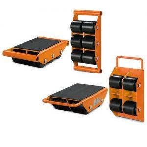 Platforma rolka transportowa do ciężkich ładunków maszyn Unicraft TR 3