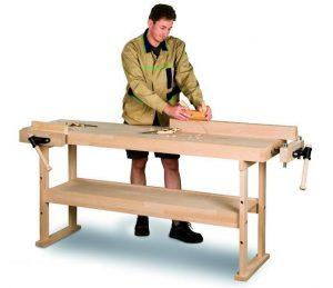 Stół warsztatowy z drewna bukowego HOLZKRAFT HB 1901