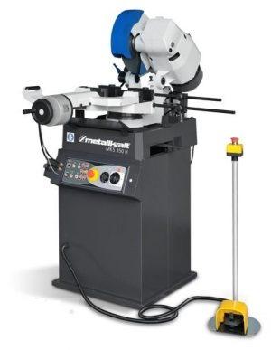 Półautomatyczna pilarka przecinarka tarczowa z chłodzeniem do cięcia metalu METALLKRAFT MKS 350H
