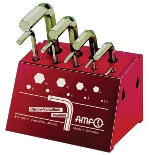 Zestaw kluczy imbusowych sześciokątnych 2,5-14 AMF