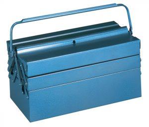 Skrzynka na narzędzia z blachy stalowej 430x200x200
