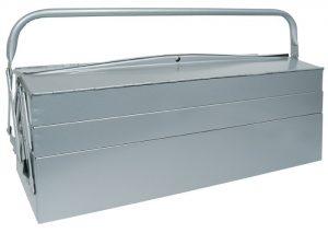 Skrzynka na narzędzia z blachy stalowej 530x195x200