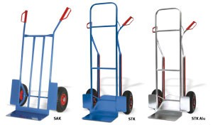 Wózki transportowe dwukołowe