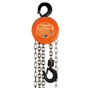 Ręczna wciągarka wyciągarka łańcuchowa podnośnik Unicraft K 1000 kg t K 1000 kg