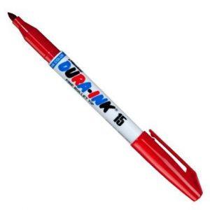 Marker permanentny DURA-INK 15 czerwony