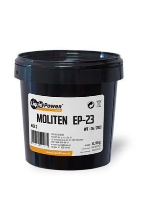 Smar MOLITEN EP - 23 wiadro 9 kg Liquid Power