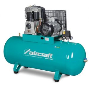 Sprężarka stacjonarna 270 l AIRCRAFT AIRSTAR 703/270/10 H