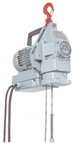 Wciągarka przeciągarka linowa elektryczna TRACTEL MINIFOR TR 10 100 kg nawój 27 m