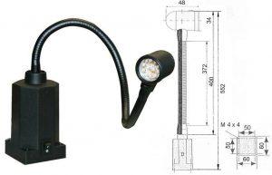 Lampa LED do maszyn OPTIMUM AL 12