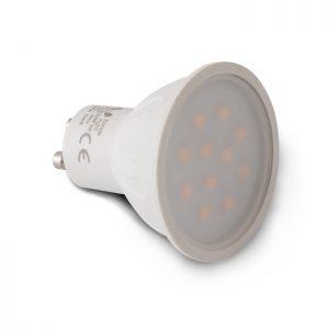 Żarówka LED GU10 11 LED SMD 2835 2W 230 V biała zimna