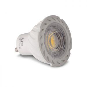 Żarówka LED GU10 COB 7 W 230 V biała ciepła 3000 K