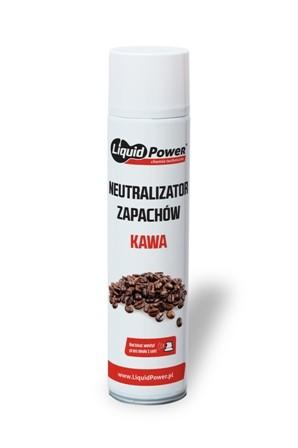 Neutralizator zapachów odświerzacz przemysłowy kawa aerozol LIQUID POWER 600 ml