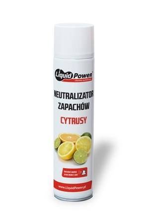 Neutralizator zapachów odświerzacz przemysłowy cytrusy aerozol LIQUID POWER 600 ml