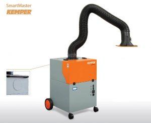 Mobilne urządzenie filtrujące Kemper SmartMaster z ramieniem 2m