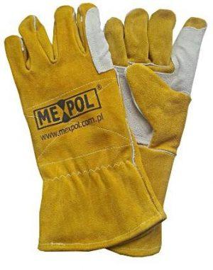 Rękawice robocze i ochronne dla spawaczy