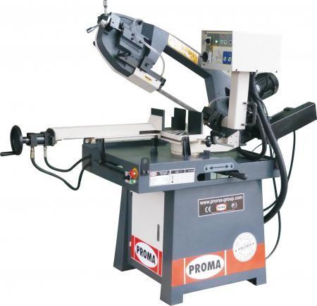 Piła taśmowa przecinarka półautomatyczna hydrauliczna do metalu PROMA PPS 250 HPA