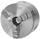 Uchwyt tokarski trójszczękowy trzyszczękowy samocentrujący OPTIMUM 160 MM
