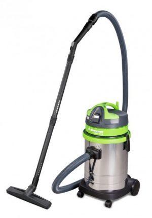 Przemysłowy odkurzacz warsztatowy do pracy na mokro i na sucho Cleancraft wetCat 133 IE