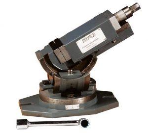 Imadło kątowe kołyskowe uchylne obrotowe do wiertarki frezarki OPTIMUM OPTI MV3-75