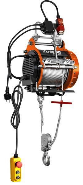Elektryczna wciągarka wyciągarka linowa UNICRAFT ESW - 500 kg