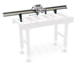 Elektroniczny sysytem pomiaru długości odległości w podajnikach rolkowych OPTIMUM LMS 20 2000mm