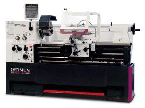 Tokarka uniwersalna tokarnia do metalu z cyfrowym wyświetaczem OPTIMUM OPTIturn TH 4615V VARIO (400V) 1560 mm