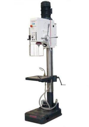 Wiertarka kolumnowa z płynną regulacją obrotów i automatycznym wysuwem tulei OPTIMUM OPTIdrill DH 32 GSV VARIO