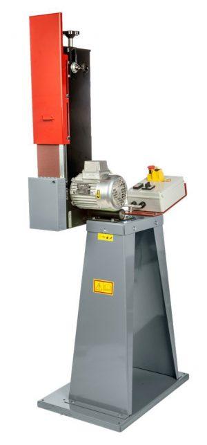 Szlifierka taśmowa do metalu PROFI do przemysłu TUR TSL-3/2 120 x 1500 400V 230V