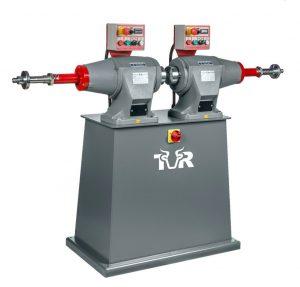 Szlifierka szczotkowa - polerka seria przemysłowa żeliwna z dwoma silnikami TUR TP6 - DI