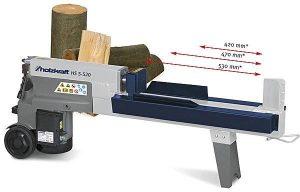 Łuparka łupak rozdrabniacz do drewna opłowego HOLZKRAFT HS 5-520H 5T 230V