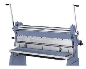 Maszyny KOMBI urządzenia walcarka giętarka nożyce do blachy