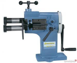 Żłobiarka rowkarka rowkowarka wyoblarka ręczna uniwersalna BERNARDO SM 250 C 1,2 mm