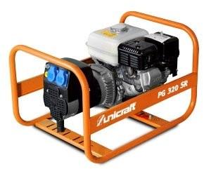 Agregat prądotwórczy spalinowy generator prądu UNICRAFT PG 320 SR 230V