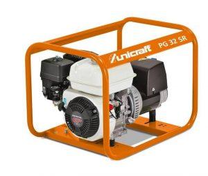 Agregat prądotwórczy spalinowy generator prądu UNICRAFT PG 32 SR