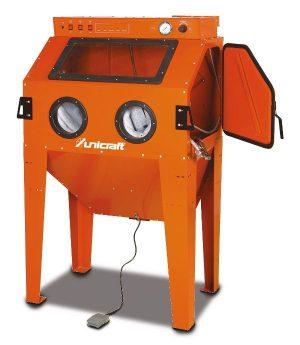 Kabina do piaskowania piaskarka kabinowa komora UNICRAFT SSK 2.5 310 L