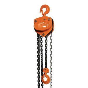Ręczna wciągarka wyciągarka łańcuchowa hakowa UNICRAFT K 5001 5000 kg