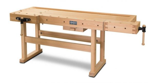 Stół warsztatowy stolarski drewniany KOLZKRAFT HB 2010