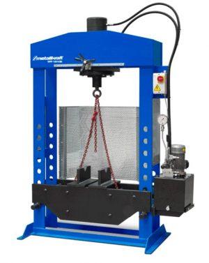 Prasa hydrauliczna warsztatowa METALLKRAFT WPP 100 HBK